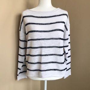 {Jones New York} Sweater. Size M. Navy/White. New!